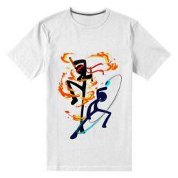 Чоловіча стрейчева футболка Stickman