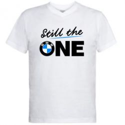 Мужская футболка  с V-образным вырезом Still the one - FatLine