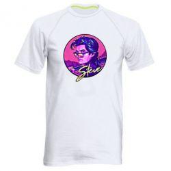 Чоловіча спортивна футболка Стів дуже дивні справи