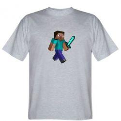 Мужская футболка Стив - FatLine