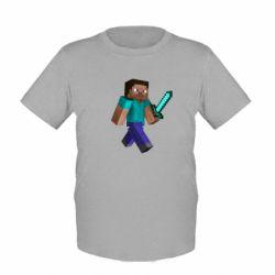 Детская футболка Стив - FatLine