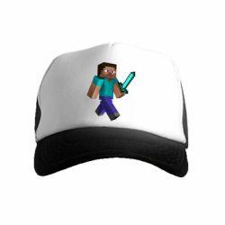 Детская кепка-тракер Стив