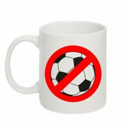 Кружка 320ml Stop football - FatLine