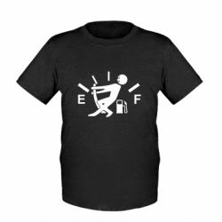 Детская футболка Stop, fuel!