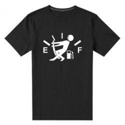 Мужская стрейчевая футболка Stop, fuel!