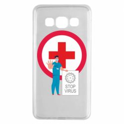 Чохол для Samsung A3 2015 Stop virus and doctor