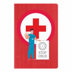 Блокнот А5 Stop virus and doctor