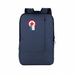 Рюкзак для ноутбука Stop virus and doctor