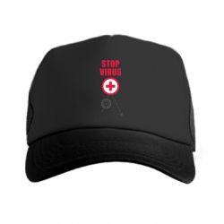 Кепка-тракер Stop virus
