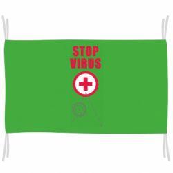 Прапор Stop virus