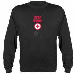 Реглан (світшот) Stop virus
