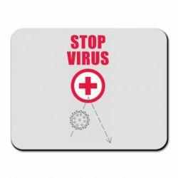 Килимок для миші Stop virus
