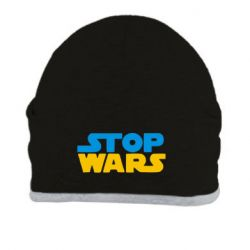 Шапка Stop Wars in Ukraine - FatLine