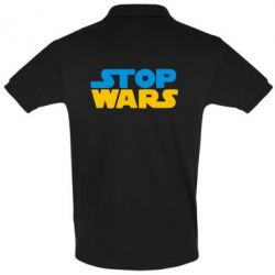 Футболка Поло Stop Wars in Ukraine