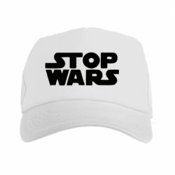 Кепка-тракер Stop Wars in Ukraine