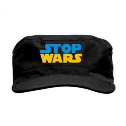 Кепка милитари Stop Wars in Ukraine