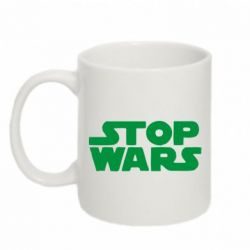 Кружка 320ml Stop Wars in Ukraine - FatLine