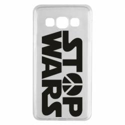 Чехол для Samsung A3 2015 Stop Wars peace