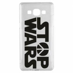 Чехол для Samsung A5 2015 Stop Wars peace
