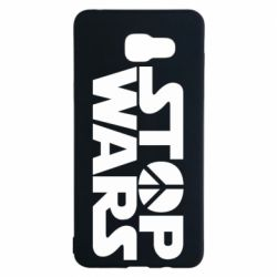 Чехол для Samsung A5 2016 Stop Wars peace