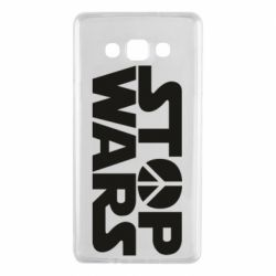 Чехол для Samsung A7 2015 Stop Wars peace