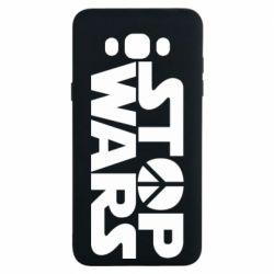 Чехол для Samsung J7 2016 Stop Wars peace