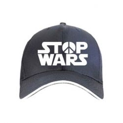 Кепка Stop Wars peace