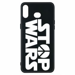 Чехол для Samsung A6s Stop Wars peace