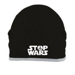 Шапка Stop Wars peace