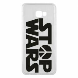 Чехол для Samsung J4 Plus 2018 Stop Wars peace