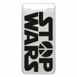 Чехол для Samsung A80 Stop Wars peace
