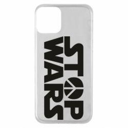 Чехол для iPhone 11 Stop Wars peace