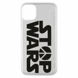 Чехол для iPhone 11 Pro Stop Wars peace
