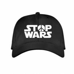 Детская кепка Stop Wars peace