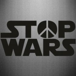 Наклейка Stop Wars peace