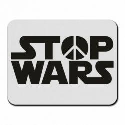 Коврик для мыши Stop Wars peace
