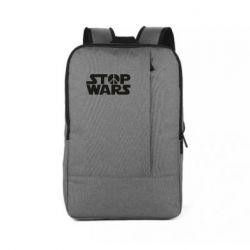 Рюкзак для ноутбука Stop Wars peace