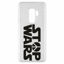 Чехол для Samsung S9+ Stop Wars peace