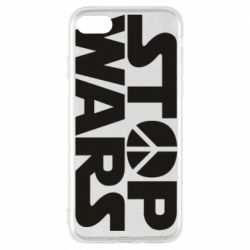 Чехол для iPhone 8 Stop Wars peace