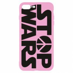 Чехол для iPhone 8 Plus Stop Wars peace