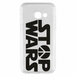 Чехол для Samsung A3 2017 Stop Wars peace