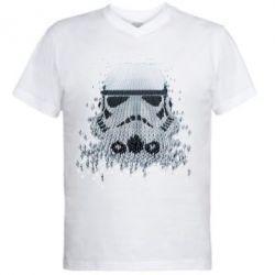 Мужская футболка  с V-образным вырезом Storm Troopers - FatLine