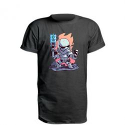 Подовжена футболка Stormtrooper chibi