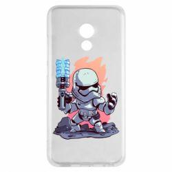 Чохол для Meizu Pro 6 Stormtrooper chibi - FatLine