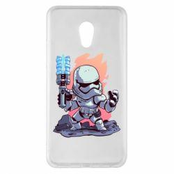Чохол для Meizu Pro 6 Plus Stormtrooper chibi - FatLine
