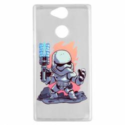 Чохол для Sony Xperia XA2 Stormtrooper chibi - FatLine