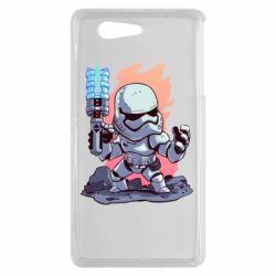 Чохол для Sony Xperia Z3 mini Stormtrooper chibi - FatLine