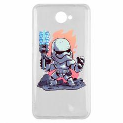 Чохол для Huawei Y7 2017 Stormtrooper chibi - FatLine