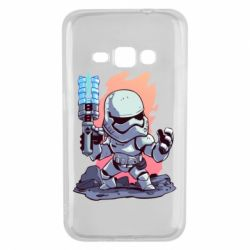 Чохол для Samsung J1 2016 Stormtrooper chibi