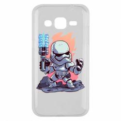 Чохол для Samsung J2 2015 Stormtrooper chibi